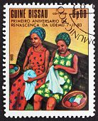 Postage Stamp Guinea-bissau 1983 Sewing