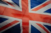 Retro Vintage British Flag