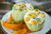 Zucchini Baked With Egg And Cheese