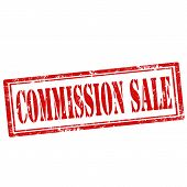 Commission Sale-stamp