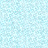 Teal And White Decorative Swirl Design Textured Fabric Background