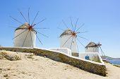Windmills Of Mykonos,Greece