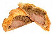 stock photo of beef wellington  - Traditional beef Wellington - JPG