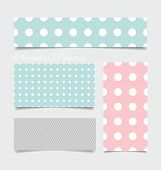 Cute patterns and seamless backgrounds. Ideal for printing onto fabric and paper or scrap booking.