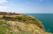 Ancient Fortress On Kaliakra Headland, Bulgarian Black Sea Coast