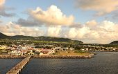 Waterfront Pier In St Kitts