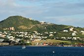 Coastal Scenery From St Kitts