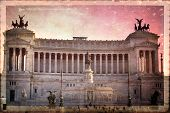 foto of altar  - National monument to Vittorio Emanuele II (Victor Emmanuel II) or Altare della Patria (Altar of the Fatherland) Rome Italy