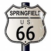 Springfield Route 66 Sign