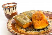 Baked Pumpkin And Milk