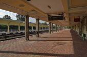 Renovating old station of railway,  Ruse, Bulgaria