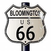 Bloomington Route 66 Sign