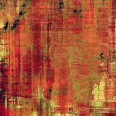 Art grunge vintage textured background. With different color patterns: yellow (beige); green; red (orange); pink