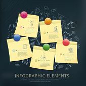 Education Concept Infographic Template Design