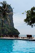 Railay Beach In Krabi Thailand Vacation Pool