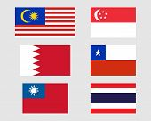 Set Of Flags 11.