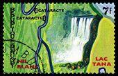 Vintage  Postage Stamp. Animals Burundi,  Nil Blanc.