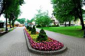 Druskininkai Is A Spa Town On The Neman River In Southern Lithuania, Close To The Borders Of Belarus