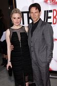 LOS ANGELES - MAY 30:  ANNA PAQUIN & STEPHEN MOYER arrives to