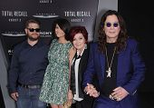 LOS ANGELES - AUG 01:  The Osbournes arrives to