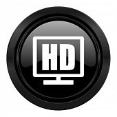 hd display black icon