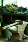 picture of blacksmith shop  - Tools  - JPG