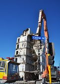 Powerful Equipment Used For Christchurch Demolition