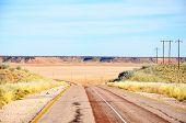 image of tar  - Traveling along a scenic tar road through a dry Koopan - JPG