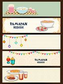 picture of kareem  - Website header or banner set for holy month of muslim community - JPG