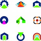 picture of going out business sale  - Into the success business point arrow building economic goal logos - JPG