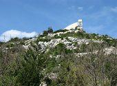 Постер, плакат: A chapel on a Croatian hill