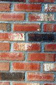 Weathered Bricks Of Chimney poster