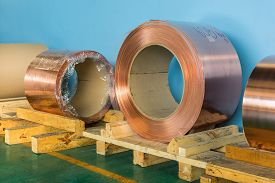 image of transformer  - Copper rolled products or copper foil  - JPG
