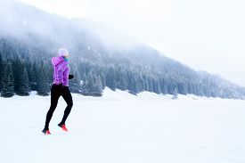 stock photo of winter sport  - Sport fitness inspiration and motivation - JPG