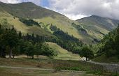 Mountains In Abkhazia