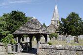Church At Shere. Surrey. England