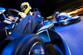 picture of karts  - Two go - JPG