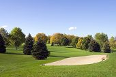 Golf Sandtrap - Bunker