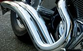 Easy Rider'S Exhaust Pipe