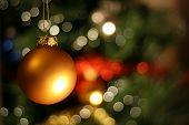Christmas Golden Ball