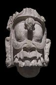 Постер, плакат: Head Of Supernatural Mayan Being