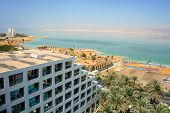 Постер, плакат: Dead sea hotels resort Israel