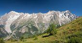 Mont Blanc Massif Panorama