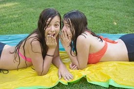 picture of  friends forever  - Two pretty 14 year old best friends  - JPG