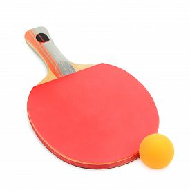 image of ping pong  - racquet to play ping - JPG