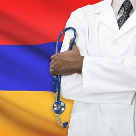picture of armenia  - Concept of national healthcare system series  - JPG