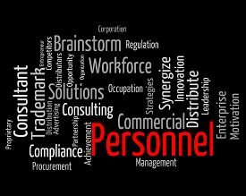 picture of labourer  - Personnel Word Meaning Labour Force And Text - JPG
