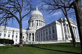 Wisconsin State Capitol In Madison