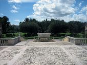 View Of Gardens At Vizcaya