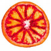 Sliced Red Orange
